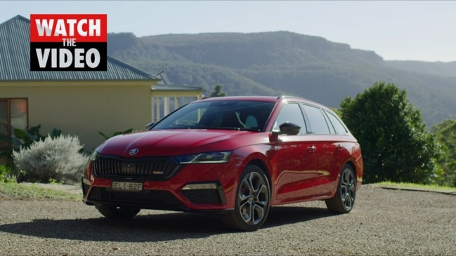 Skoda debuts a sporty new sedan