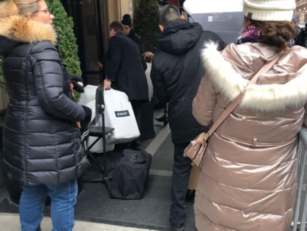 Bags bearing the branding of lifestyle and travel brand Away arrive at the pricey New York hotel, popular with the A-list for its sweeping views of The Met.