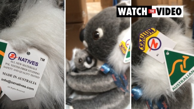 Chinese made koala magically becomes an Aussie with fake Australian Made tag