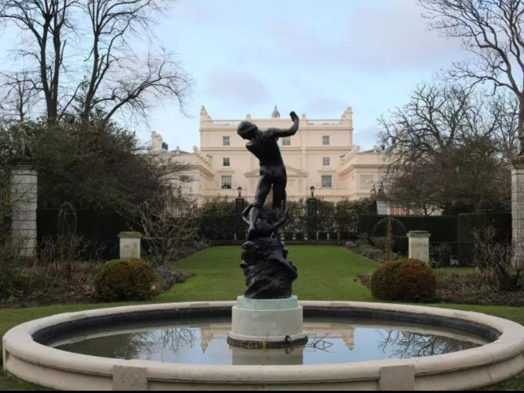 St John's House in Regent's Park is the most expensive private house in the UK. Picture: thesun.co.uk