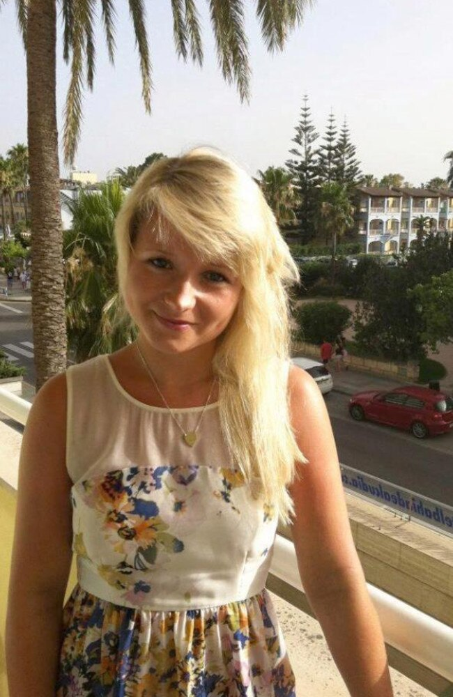 Hannah Witheridge was raped and killed in the horrific double slaying.