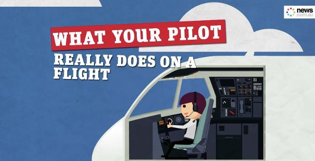 What your Pilot really does on a flight