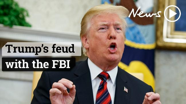 Trump's love/hate relationship with the FBI