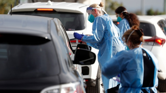NSW has recorded 22 new cases which have all been linked to the Sydney outbreak except one. Picture: NCA