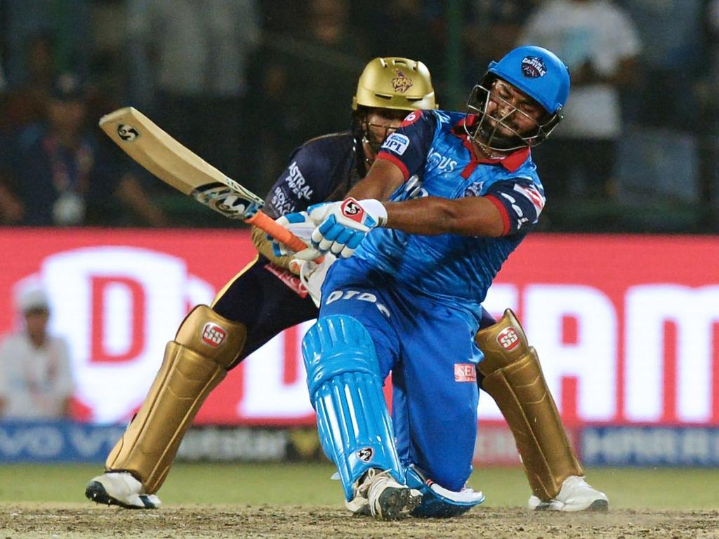 Rishabh Pant hit 11 in the tie and another 6 in the Super Over.