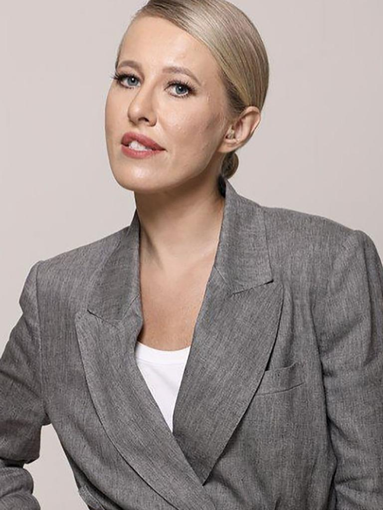 Prominent Russian journalist Ksenia Sobchak commented on the support for the accused murderer. Picture: East2West