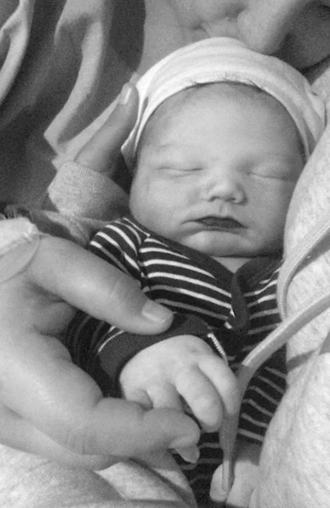 Baby Nixon Tonkin. Picture: Supplied
