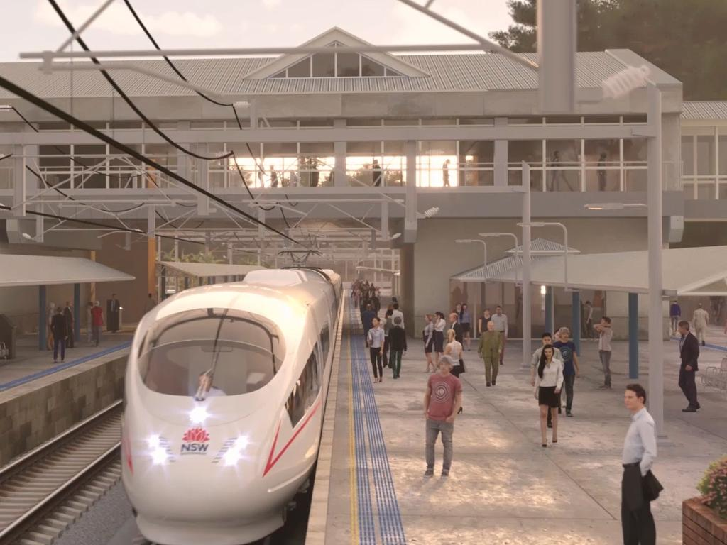 Enabling regional areas to benefit from the rail system could prove problematic. Picture: Supplied