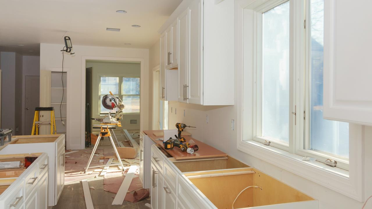 The cost of an entire kitchen renovation can't be claimed all in one financial year. Picture: News Regional Media