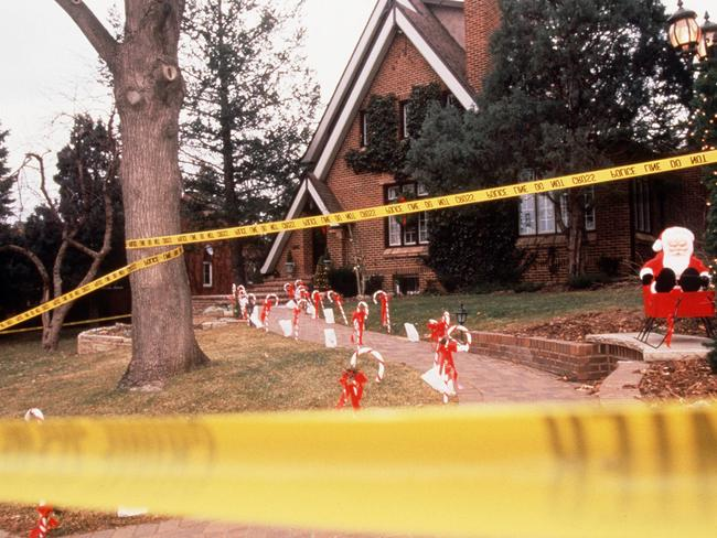 The Colorado home where JonBenet Ramsey was murdered. Picture: Supplied