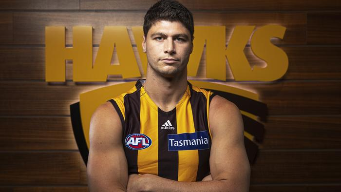 Jonathan Patton Hawthorn Hawks Signing Press Conference