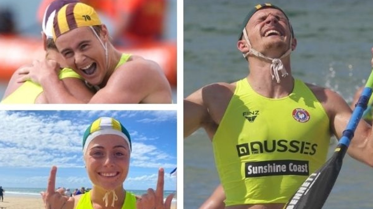 The young stars and standouts of the 2021 Australian surf life saving championships.