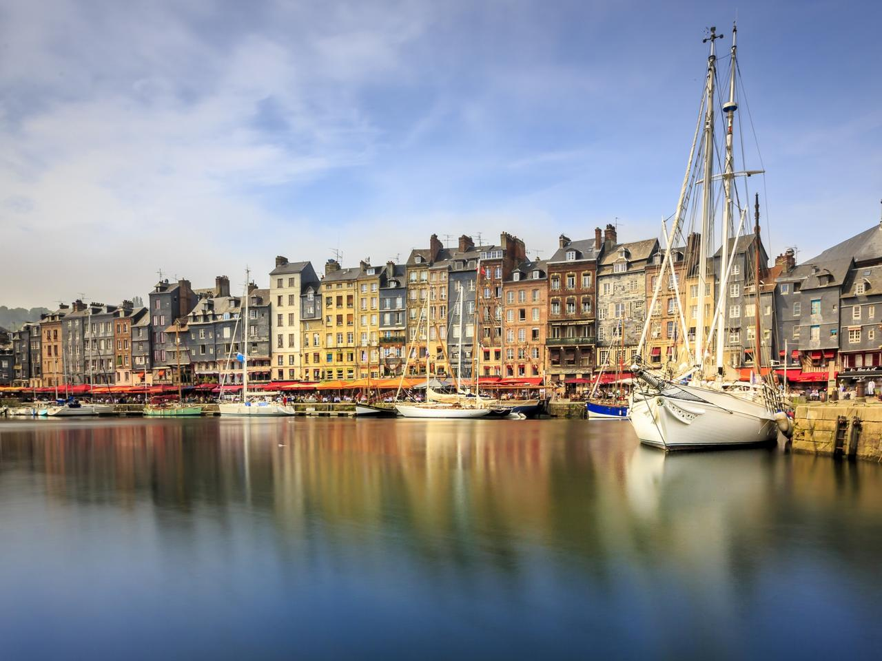 Beautiful Honfleur in France