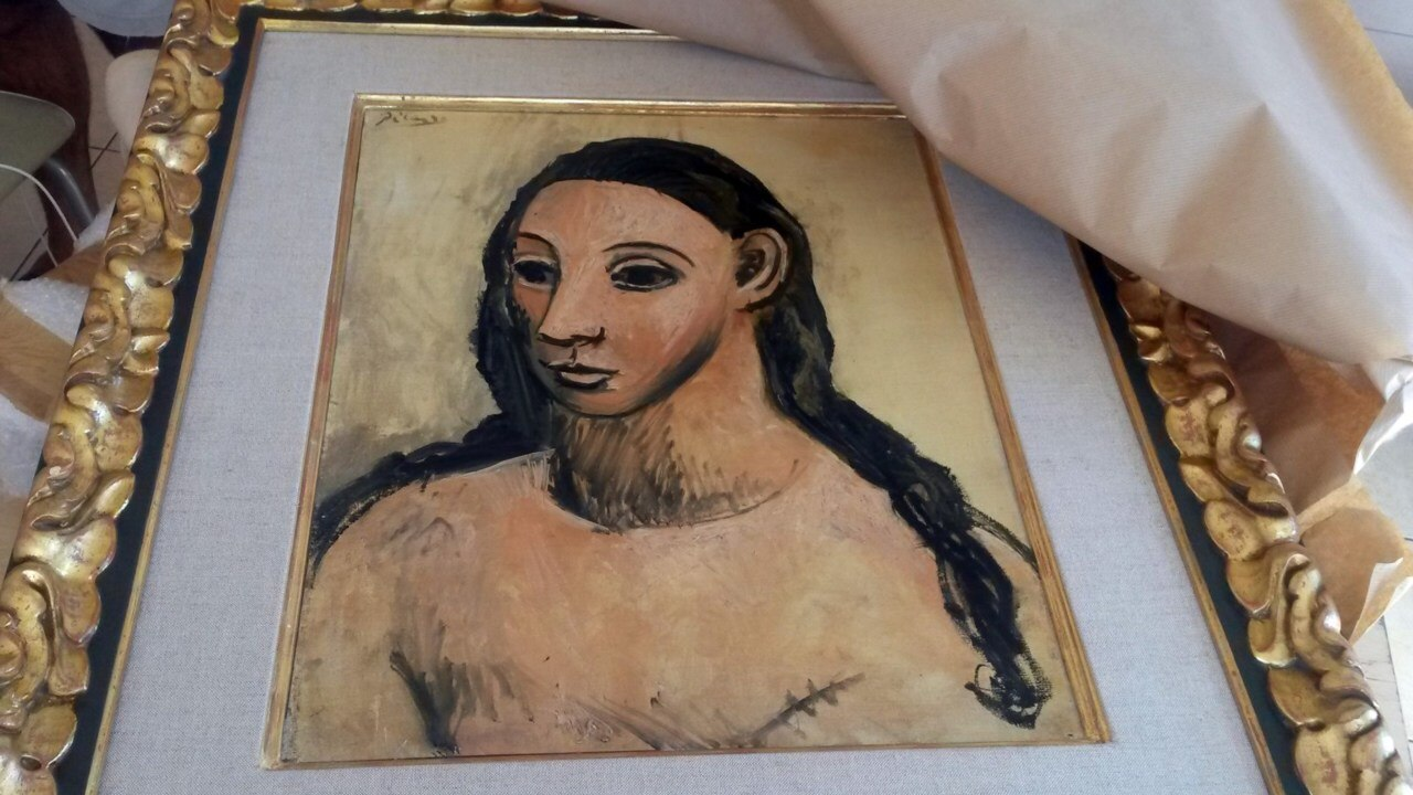 Billionaire caught smuggling $41m Picasso out of Spain
