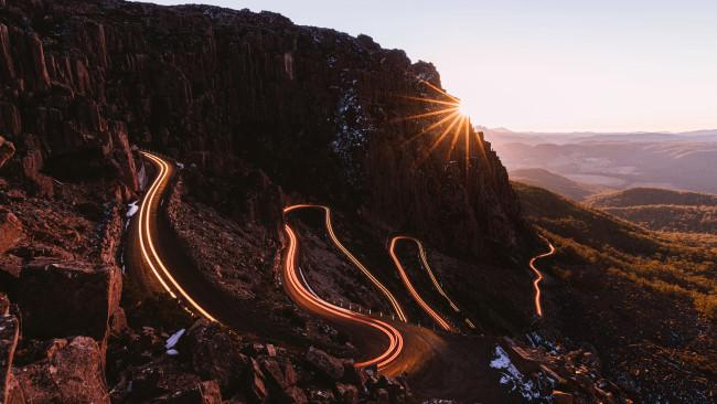 7/71Ben Lomond - Tasmania Climb the alpine road of Jacobs Ladder to find yourself in mountainous heaven on the mountain of Ben Lomond. In winter, Ben Lomond National Park transforms into a snow dusted wonderland.Picture: Melissa Findley / Tourism Tasmania