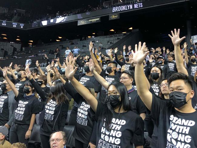 NBA rocked by new China protest storm