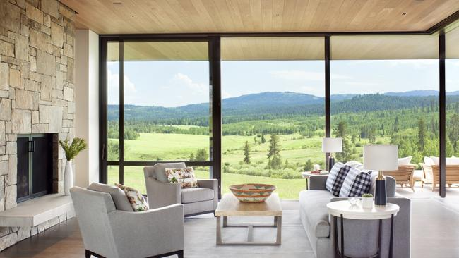 Aspensong, Wyoming, for sale through Christie's International Real Estate.