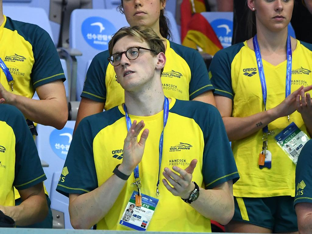 Mack Horton is front and centre of the storm around drugs in swimming.