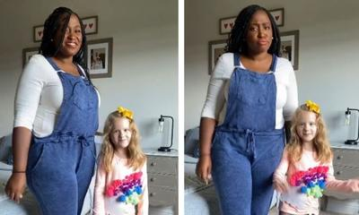 Mum and daughter answer strangers' questions in video