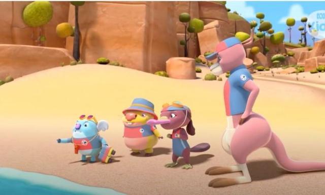 ABC's new kids show like Bluey, Kangaroo Beach