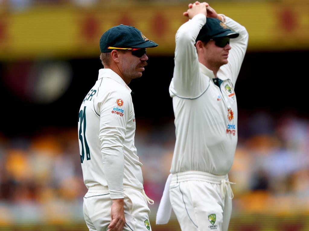 Australia's David Warner and Steve Smith.