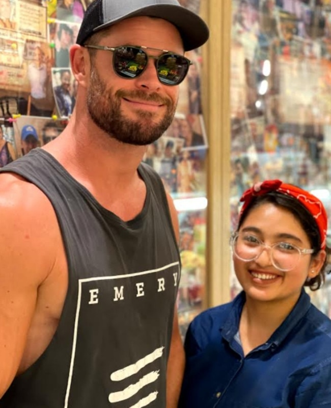 Thor drops into the chicken shop. Picture: Supplied