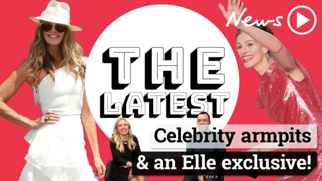 The Latest: Celebrity armpits & an Elle exclusive!