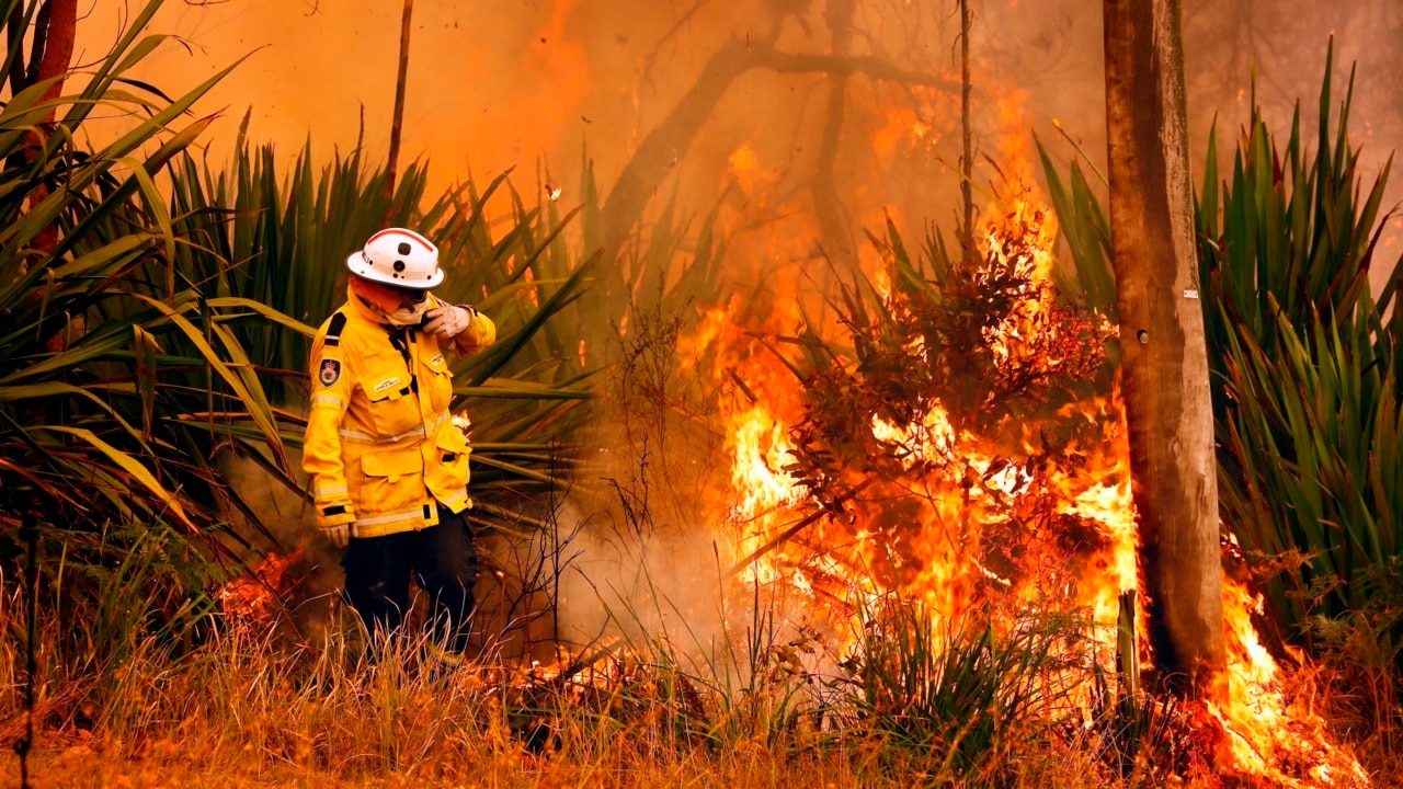 Firefighters brace for another horror week battling the NSW 'mega-fire'