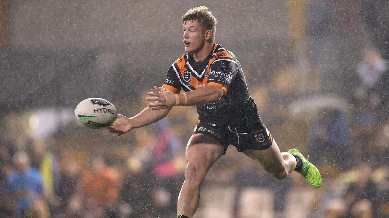 Harry Grant of the Wests Tigers.