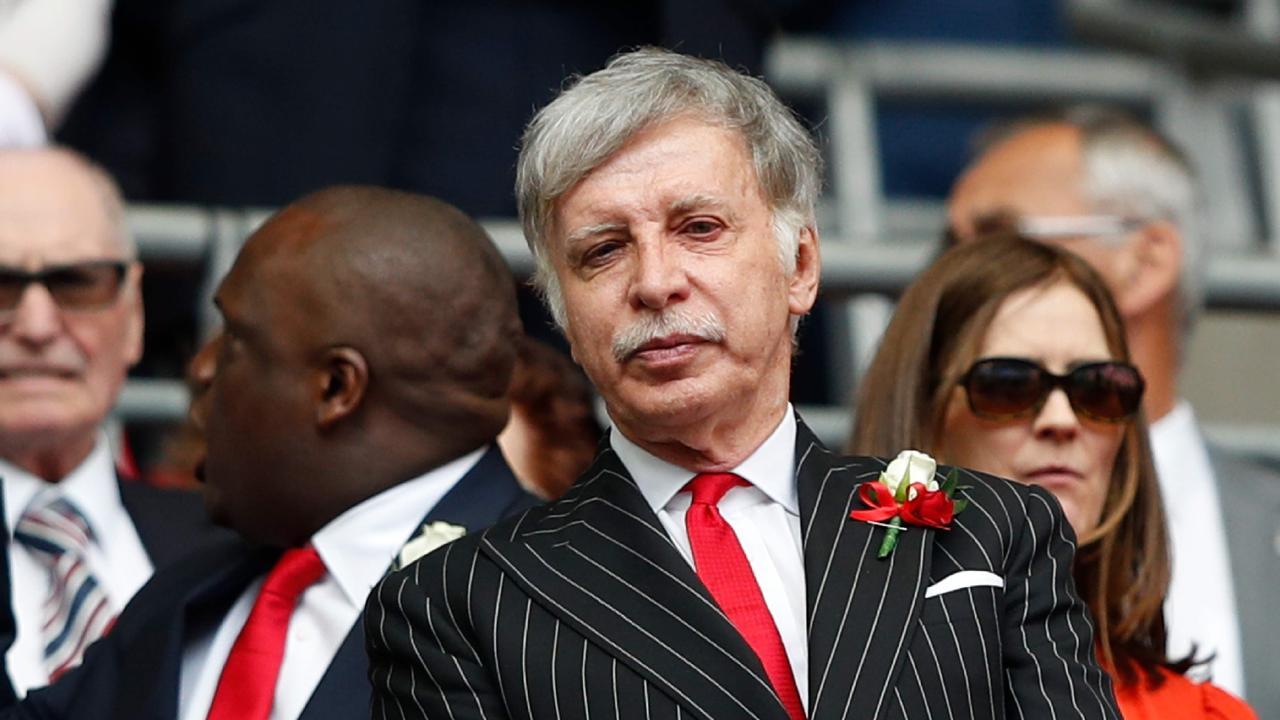 Arsenal's US owner Stan Kroenke
