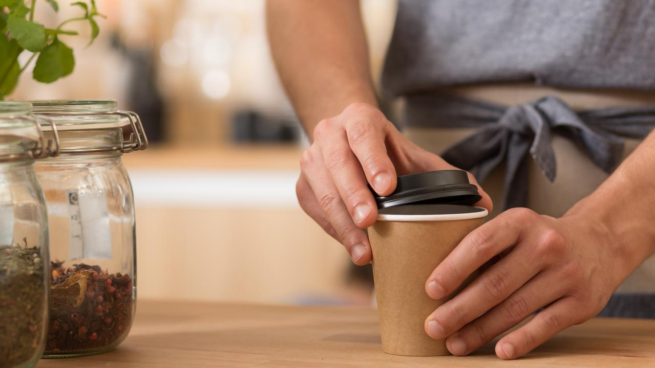 Baristas are serving up coffee in shrinking cups. Picture: iStock