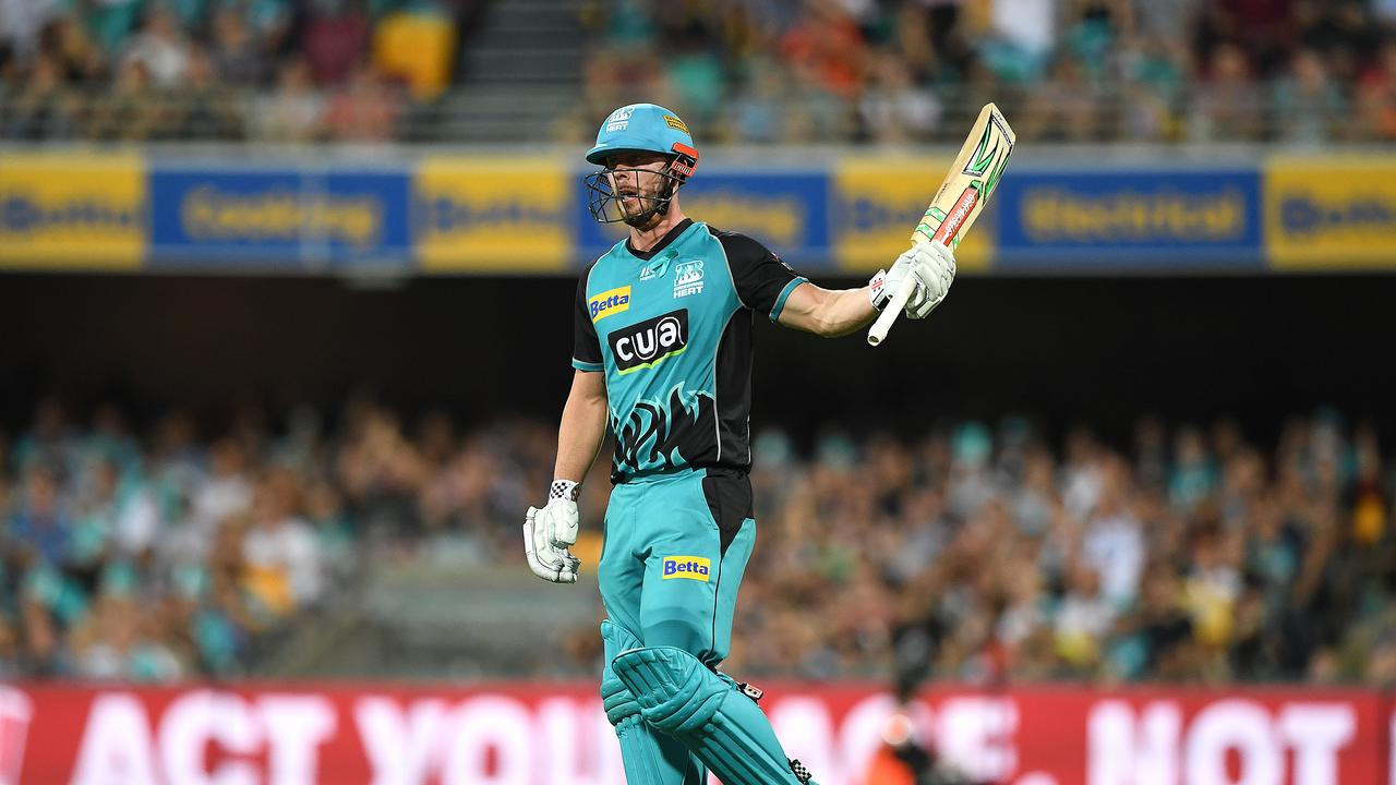Chris Lynn is now the all-time leading run scorer in BBL history