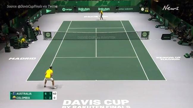 Davis Cup 2019: Nick Kyrgios v Alejandro Gonzalez