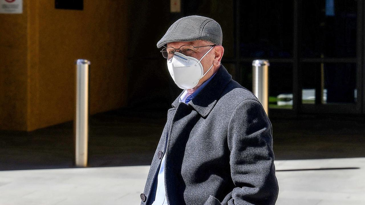 Gerald Medici told the Coroners Court of Victoria on Tuesday that another priest told him Fr Bongiorno had an alibi on the day of the murder. Picture: NCA NewsWire / Ian Currie